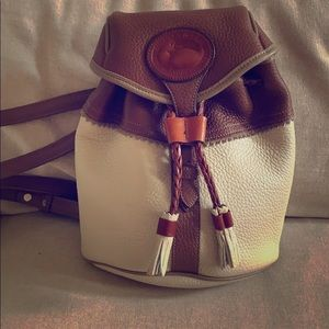 Rare vintage Dooney mini backpack